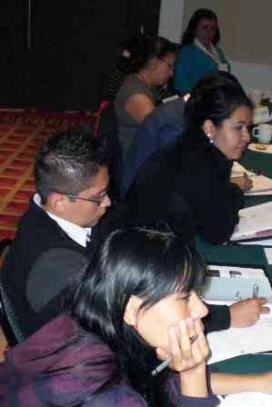 En los tres días de curso se vivió un ambiente de camaradería entre los asistentes