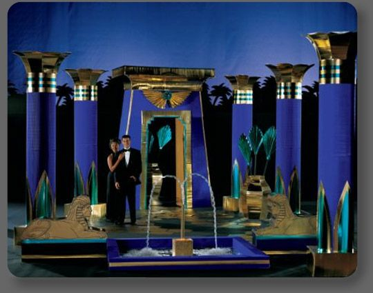 Creative rentals prom props google search party for Ancient egypt decoration