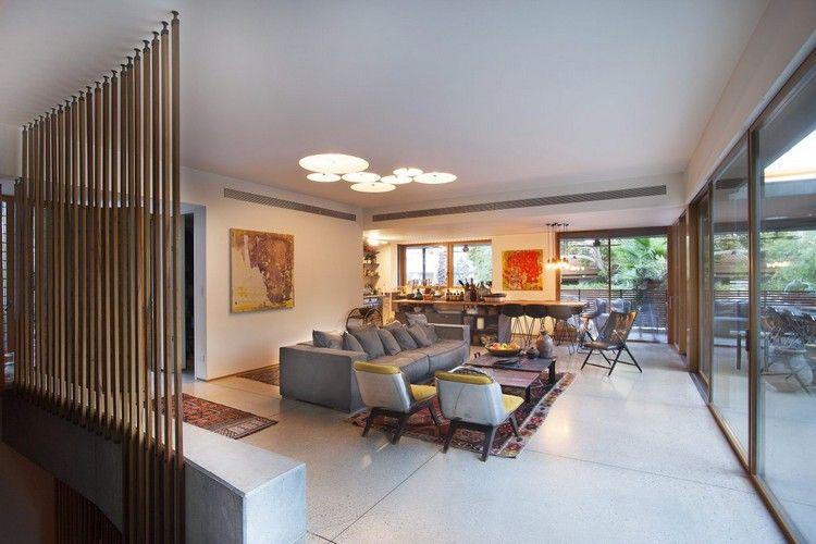 offener wohnbereich wohnzimmer essbereich küche originelle ...