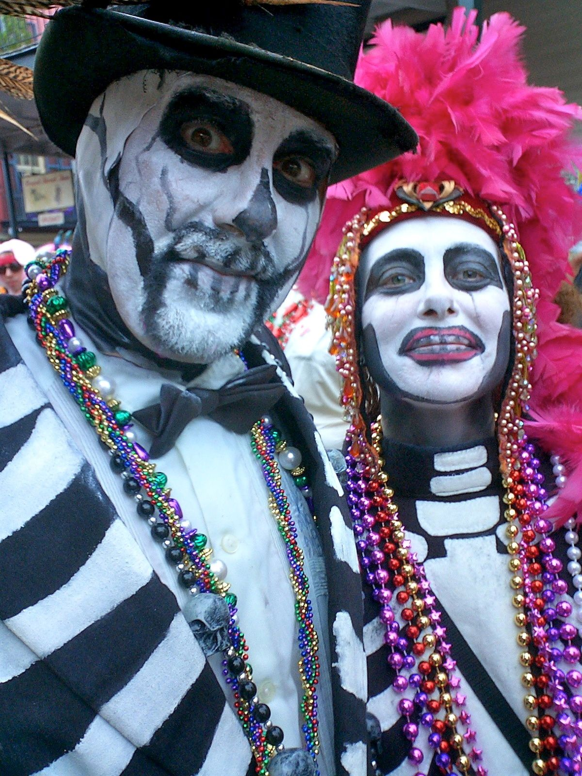 mardi gras dead new orleans mardi gras style and costumes pinterest nouvelle orl ans. Black Bedroom Furniture Sets. Home Design Ideas