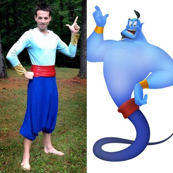 Aladdin Genie Halloween Costume Genie Of The Lamp Shirt