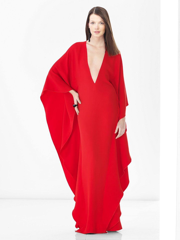Valentina caftan s inspired evening gown ralph lauren evening