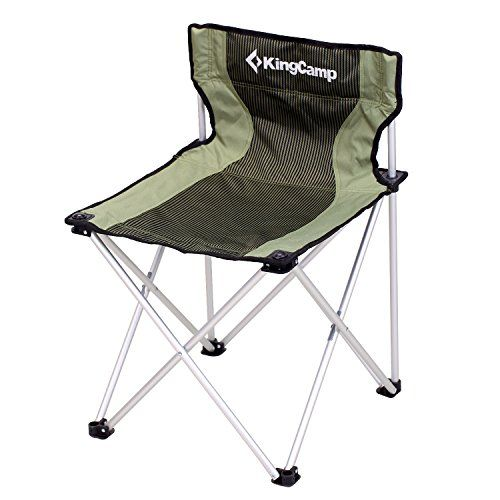 Kingcamp 174 Compact Large Size Chair 260lbs Light Weight