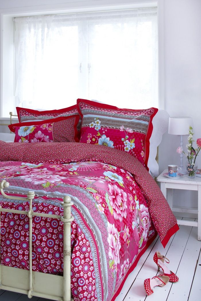 Pip Chinoise Duvet Cover Pink Duvetcovers Duvet Cover Bed