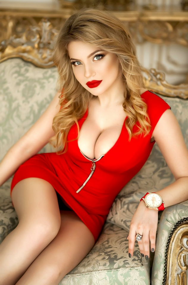 Agree with Sexy blonde red dress what necessary