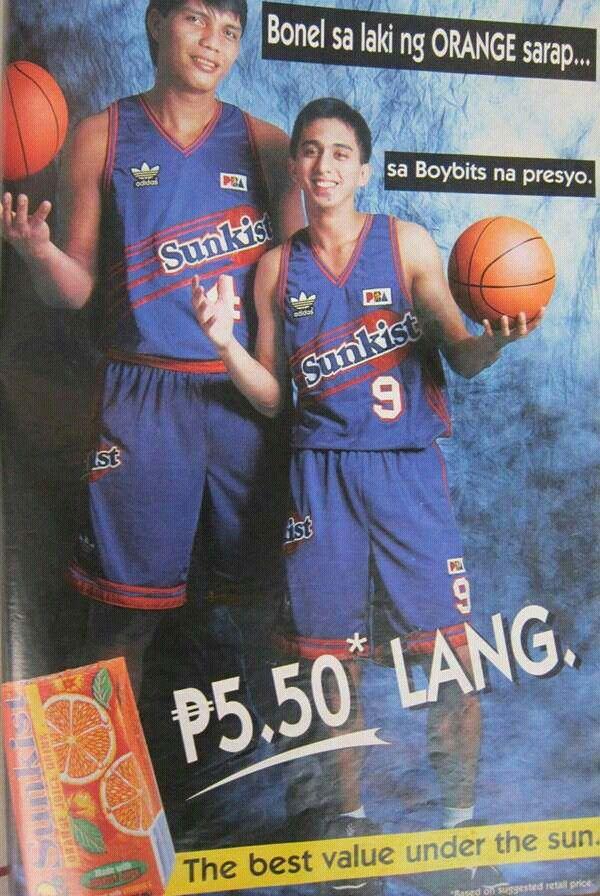 Bonel Balingit And Boybits Victoria Of Sunkist Orange Juicers In 1995 Basketball Design Rules For Kids Sunkist