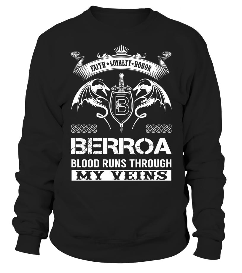 BERROA Blood Runs Through My Veins