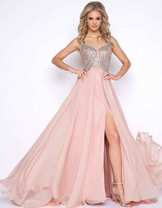 Pink dress, bridesmaids dress, party dress, wedding dress, long ...