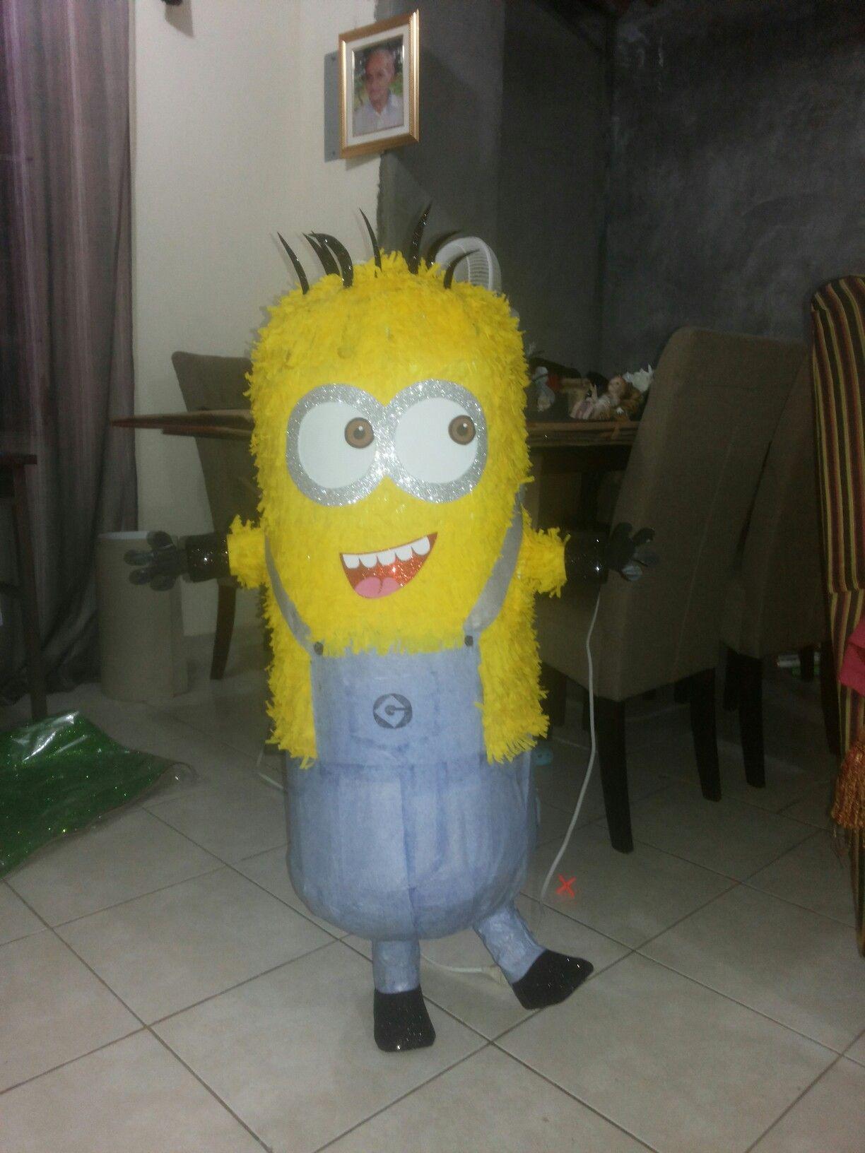 Piñata Minion, fiestas infantiles