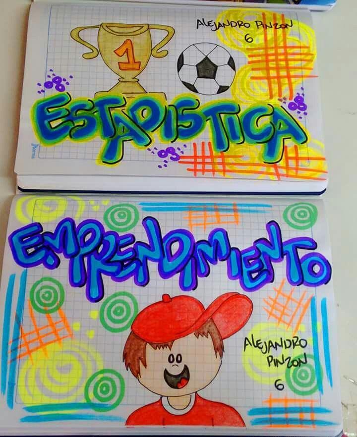 Para Niños Carátulas Cuadernos Marcar Cuadernos