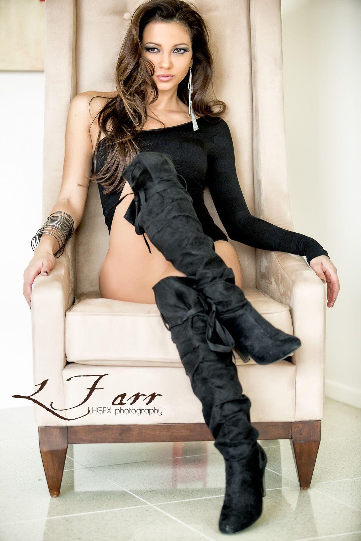 01c206cc26ee8 Leticia Farr #MMA #RingGirl Model | Leticia Farr | Lederstiefel ...