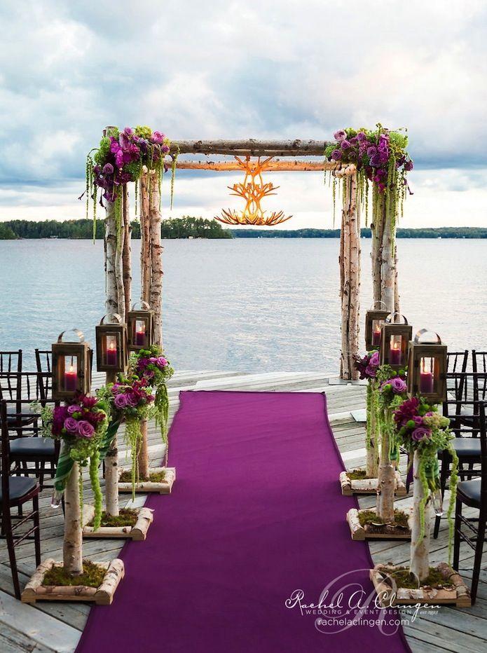 Glamorous Wedding Ideas Diy Aisle DecorBeach
