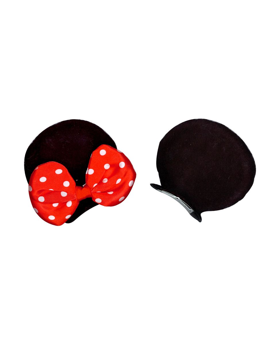 $599- Minnie Adult Ear Clip with Red Bow \u2013 Spirit Halloween - Minnie Mouse Halloween Decorations
