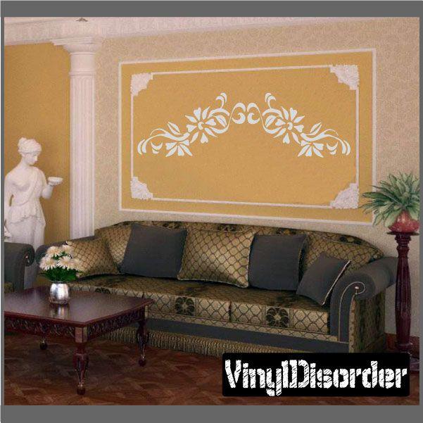 Flower Wall Decal - Vinyl Decal - Car Decal - CF23231