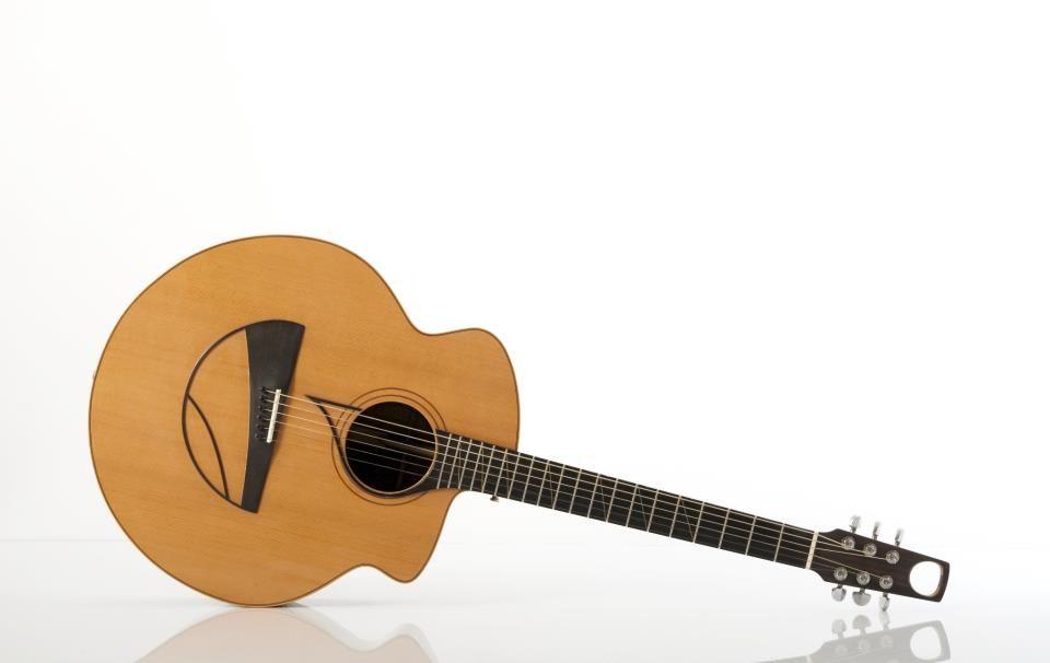 Ulrich Unique And Pleasing Body Shape Beautiful Guitars Guitar Design Acoustic Guitar