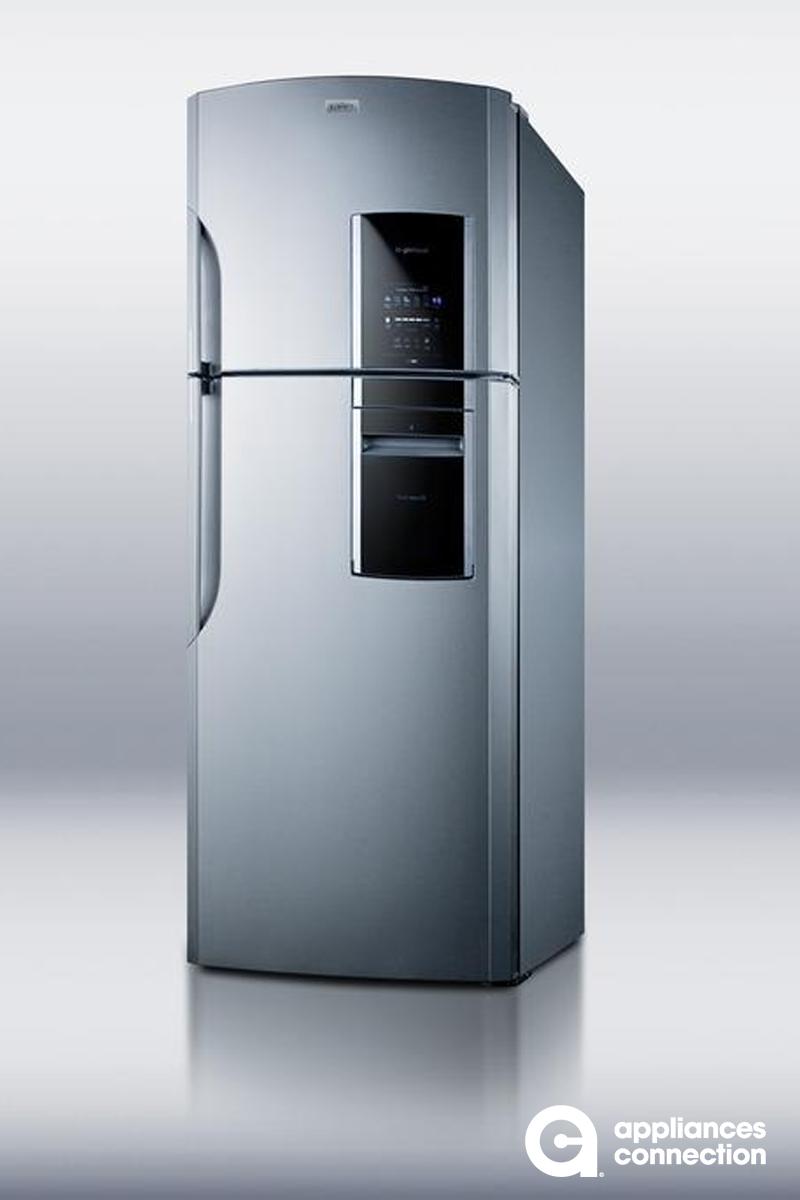 Summit Ff1935pl 30 Inch Platinum Counter Depth Top Freezer Refrigerator In Platinum Counter Depth Refrigerator Best Counter Depth Refrigerator Top Freezer Refrigerator