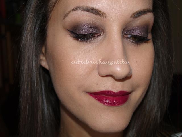Maquillaje con Subra | Narsissist dual intensity eyeshadow palette