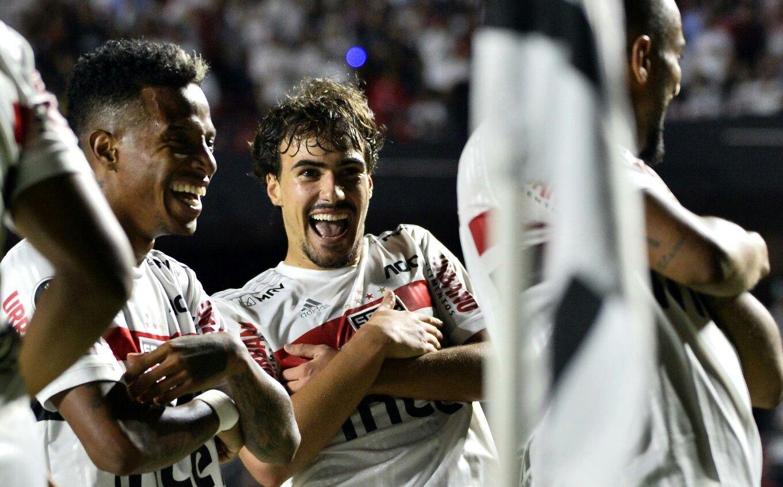 São Paulo 3 x 0 LDU 11 03 2020 em 2020 Spfc, Paulinho