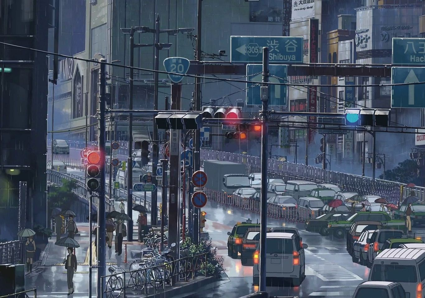 Cityscape City Town Anime Scenery Background Wallpaper Garden Of Words Anime City Anime Scenery