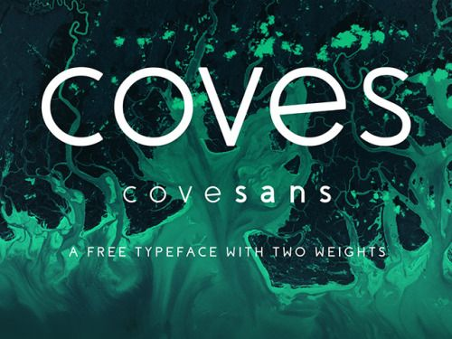 Coves: A free font with two weights http://ift.tt/1o26KxM