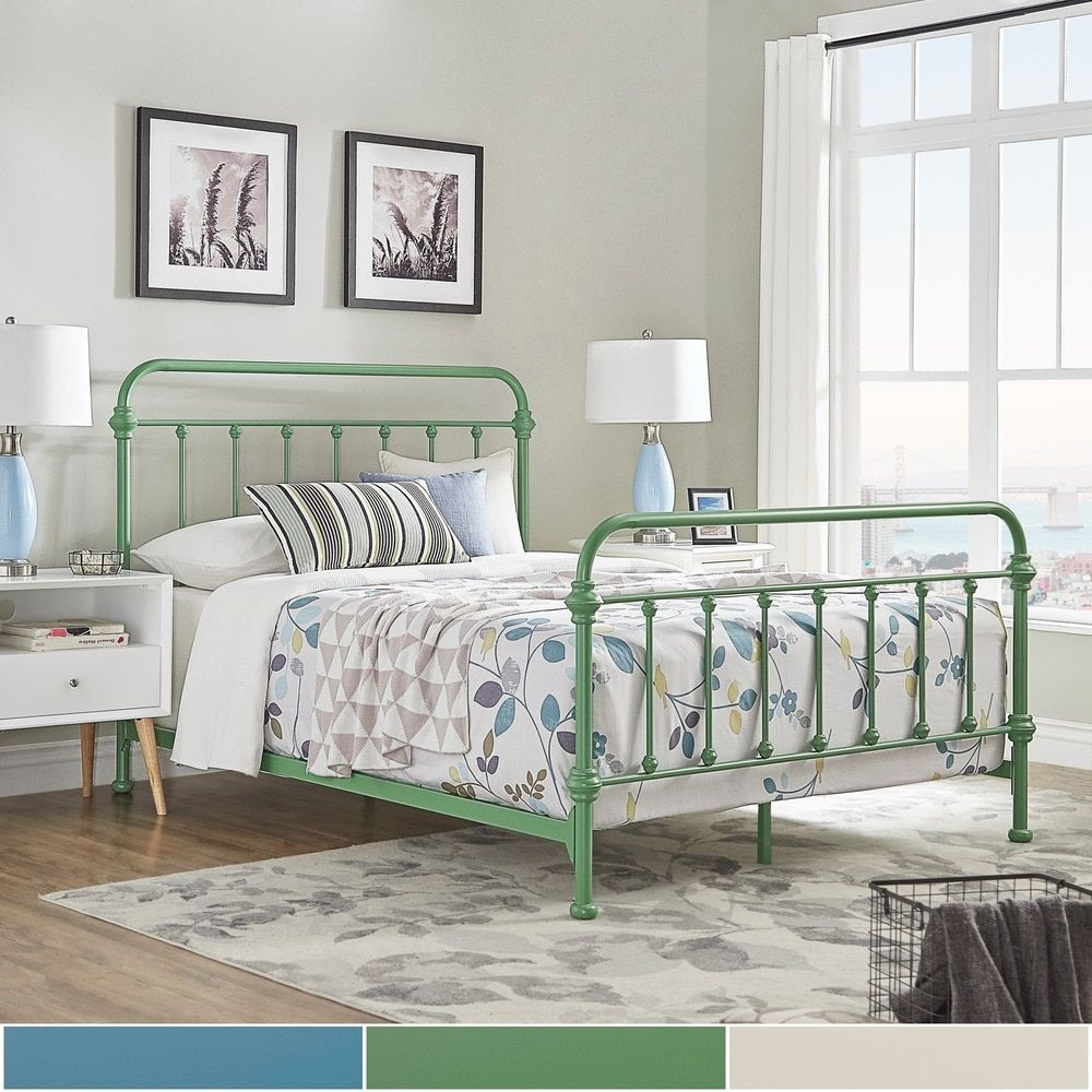 Giselle II Queen Metal Bed iNSPIRE Q Modern by iNSPIRE Q