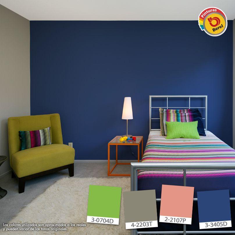 Colores intensos para tu habitaci n los aplicar as - Apliques habitacion ...