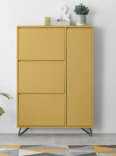buy online d6574 047f7 MADE Mustard & Shoe storage cabinet | House in 2019 | Shoe ...