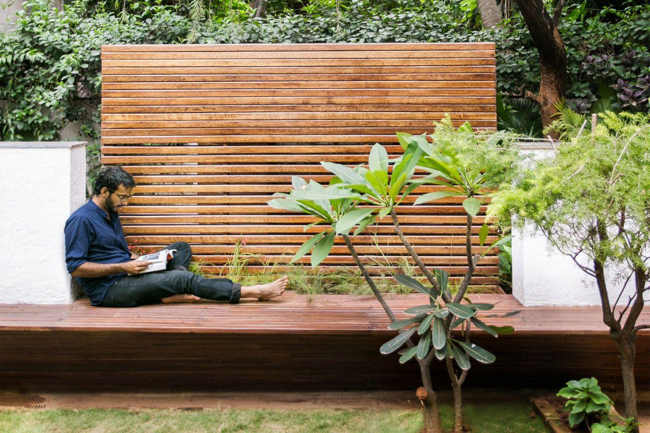 Pavilion in a garden