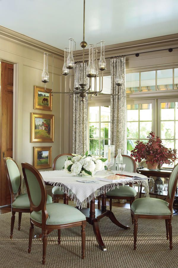 Inviting Dining Room Ideas With Images Green Dining Room
