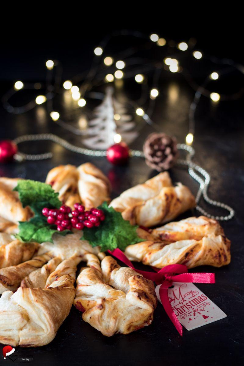 Torta Salata Stella Di Natale.Pinterest