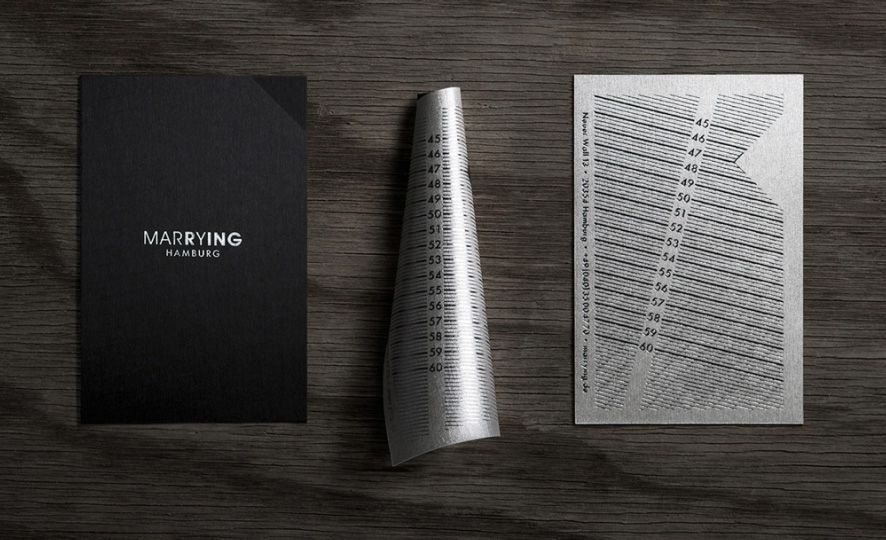 Jeweler S Clever Business Card Rolls Into A Ring Sizer Clever