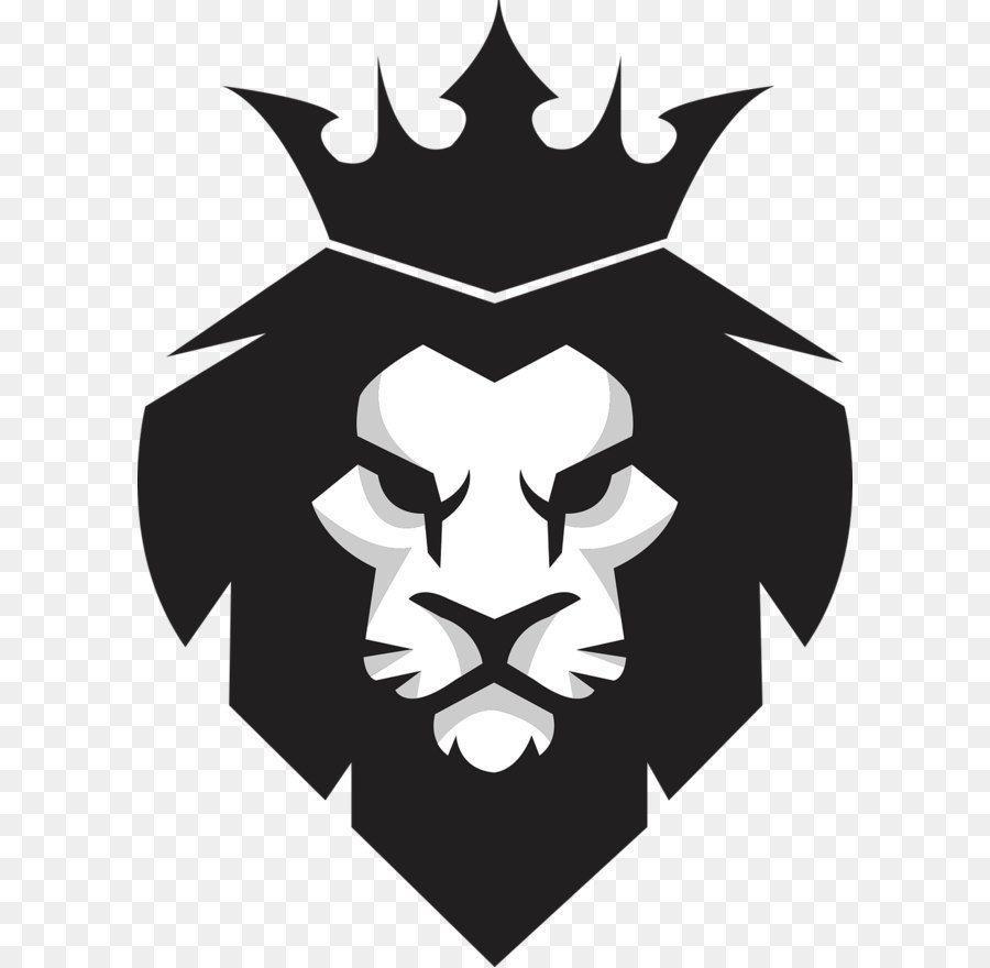 Black Lion King Logotipo De Leao Esboco De Leao Logos De Arte