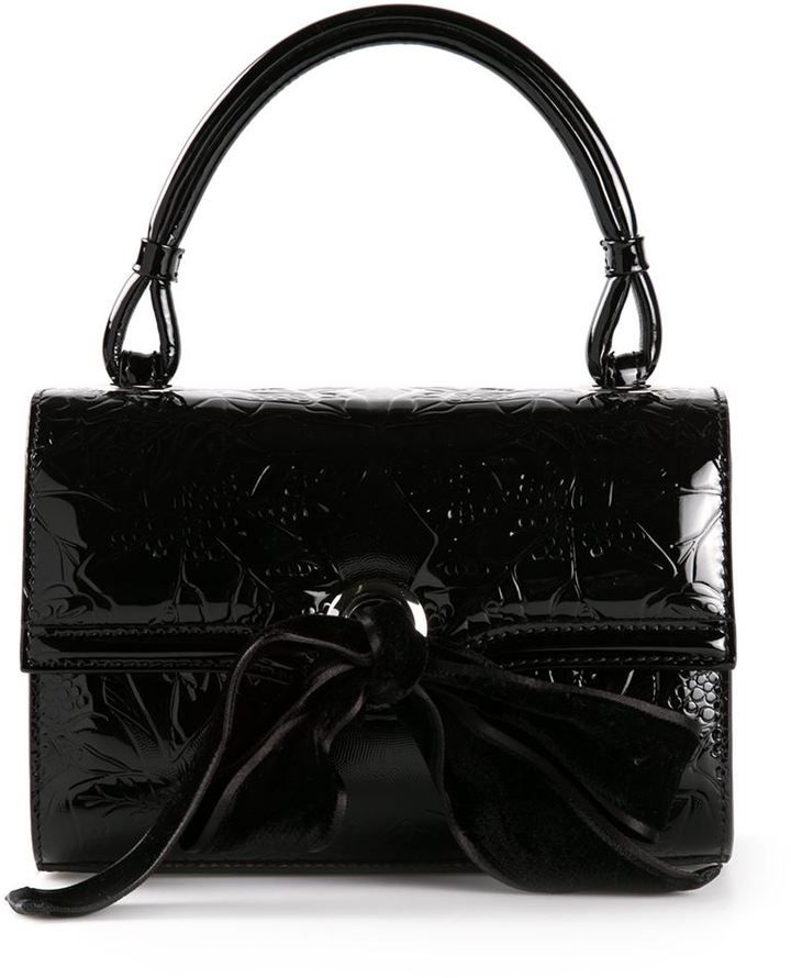 7ef7bd7227 Alexander McQueen 'Structure' ivy tote on shopstyle.com Black Leaves, Purses  2014