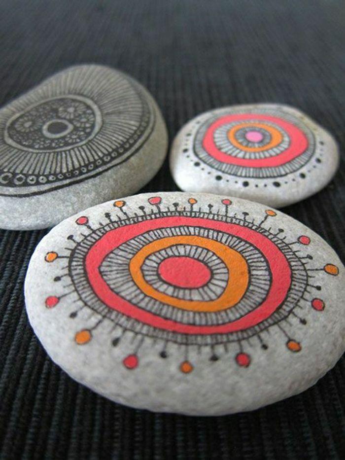 Bemalte Steine – Ihre Zeit für kreative Beschäftigungen – Archzine.net