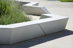 of form ins situ concrete seat landscape architecture - Google Search