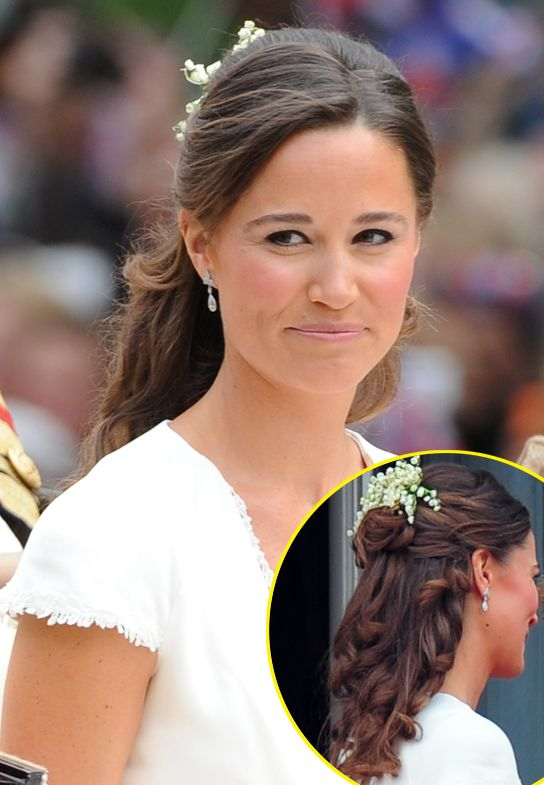 Pippa Middleton S Royal Wedding Hair How You Can Create Her Flowing Look Bridesmaid Hair Wedding Hairstyles Wedding Hair And Makeup