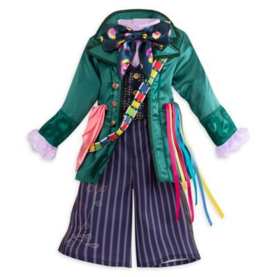 Mad Hatter Costume For Kids, Alice Through The Looking Glass