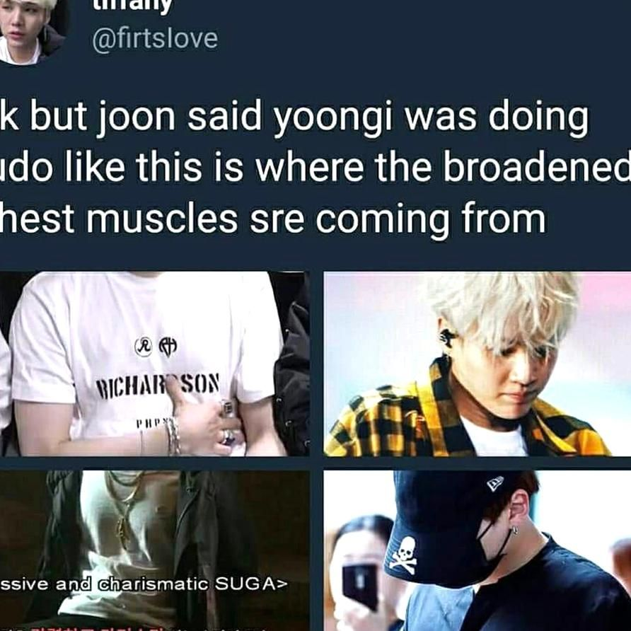 I Legit Screamed When Joon Said Yoongi Was Learning Judo Like Agdkagdjackdga Sayings Judo Yoongi