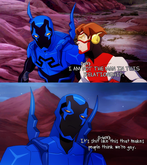 Totally Do Not Ship Them But This Is Funny  Young Justice -9766