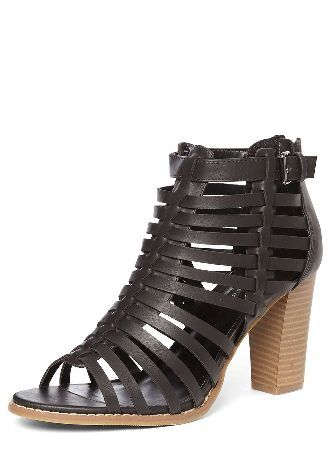 f2344ce5c72b Dorothy Perkins Womens Black Sand Gladiator Sandals- Black Black Sand  gladiator foot coverage sandals with