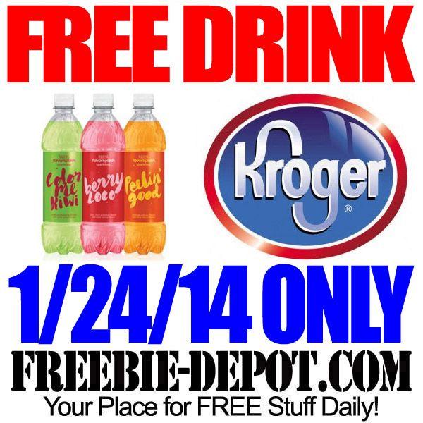 FREE Sparkling Drink from Kroger Digital coupons