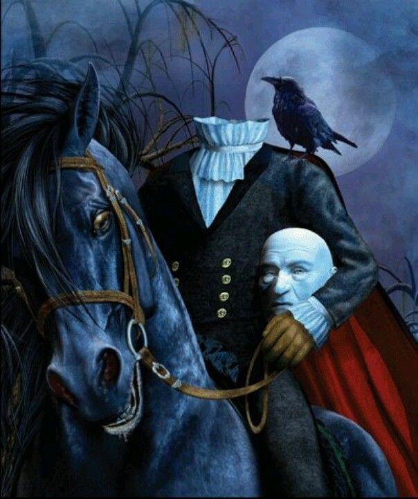 Headless Horseman! Happy Halloween!!!!