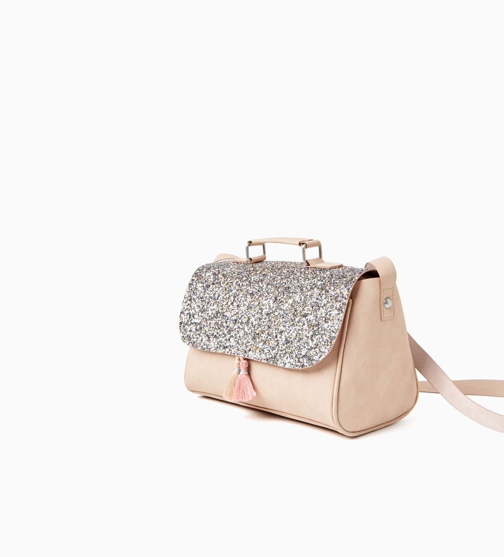 Glitter bowling bag new in girl 4 14 years kids zara - Zara kids online espana ...