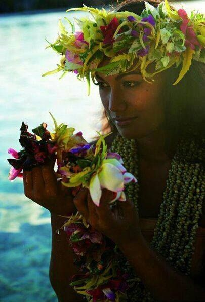 Polynesian Beauty  Tahiti, Polynesian Culture, Pacific Cruise-1315