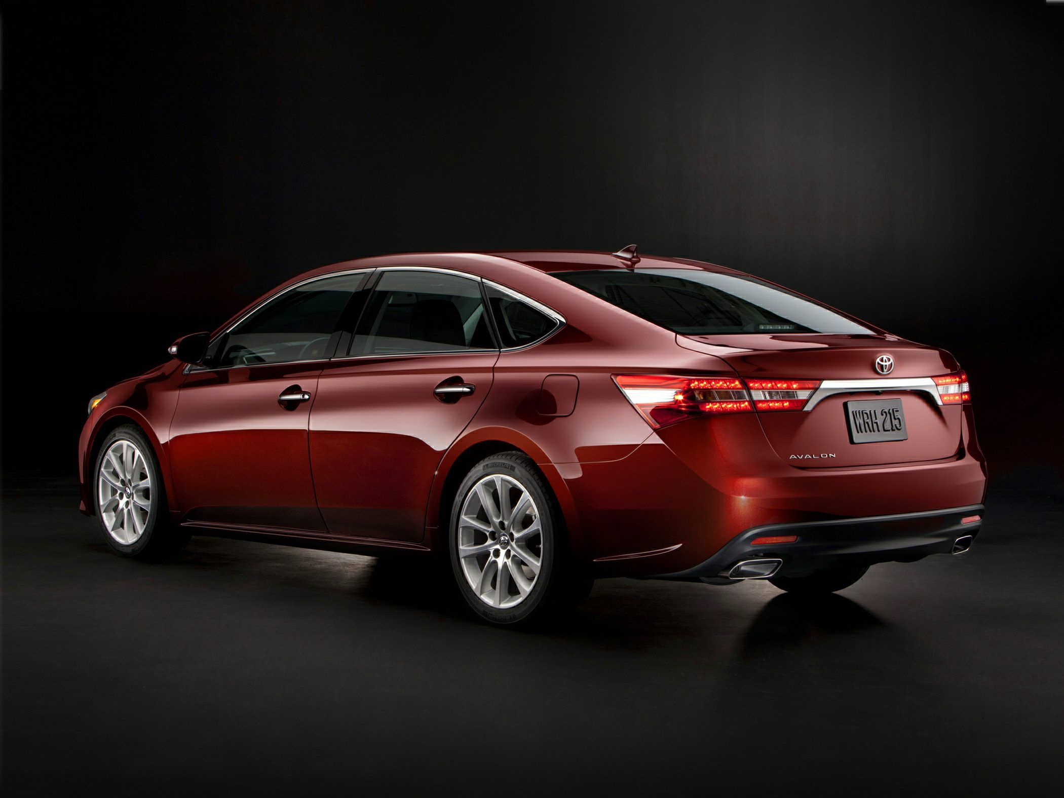 sporty step title away is saloon the from toyota avalon a of just