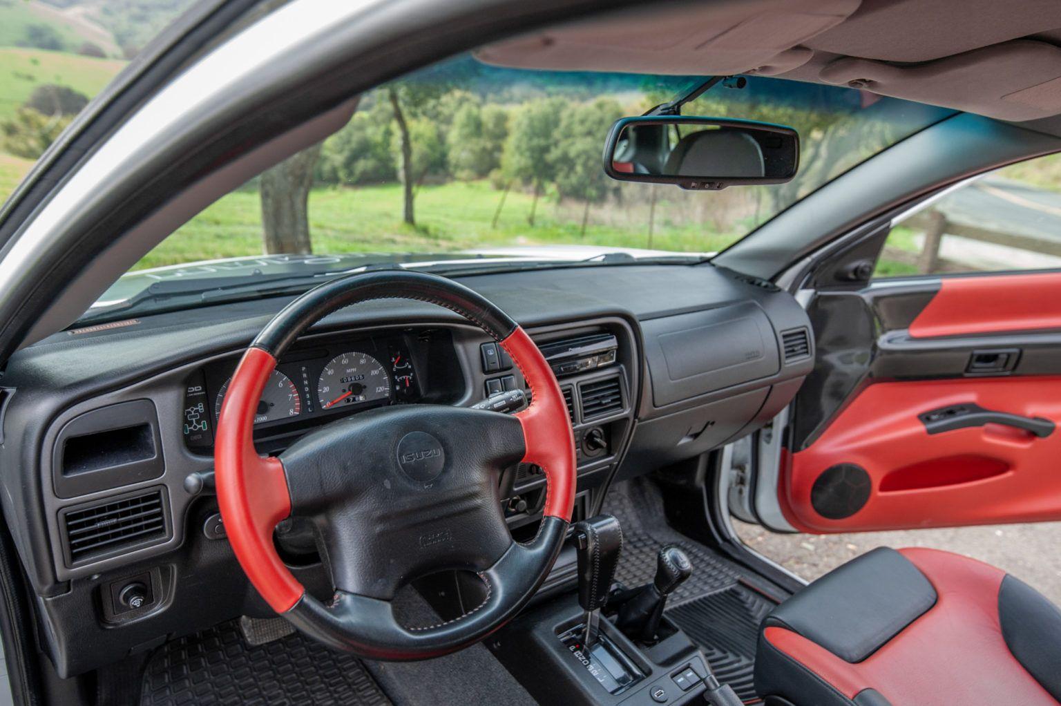 10k Mile 2000 Isuzu Vehicross Ironman Edition In 2020 Iron Man Sport Seats Fuel Efficient