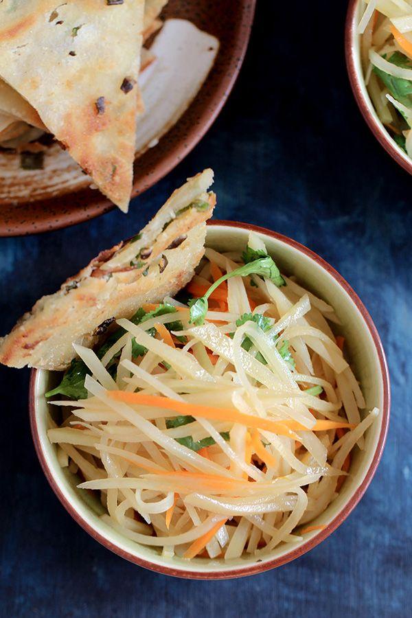 Chinese potato salad recipe potato salad salad and food chinese potato salad by china sichuan food forumfinder Images