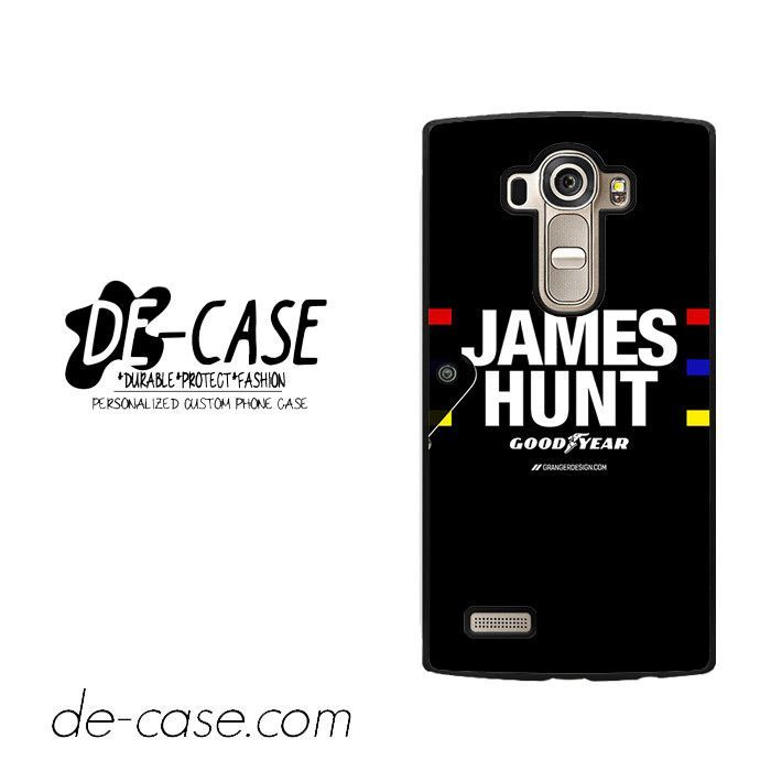 James Hunt For LG G4 Case Phone Case Gift Present YO