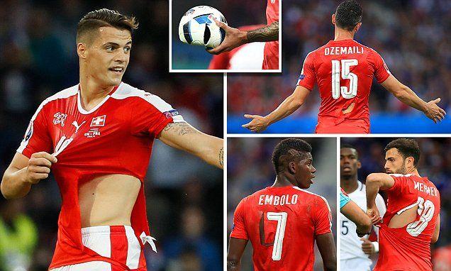 01432b5b3fa Switzerland shirts rip as Henry jokes  I can call up Puma if you want