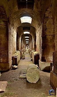 The Campanian amphitheater near Capua